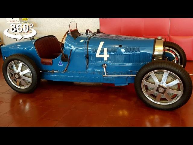 Vintage cars, Bugatti 35B, Mercedes Gullwing 300sl! VR 360 Video