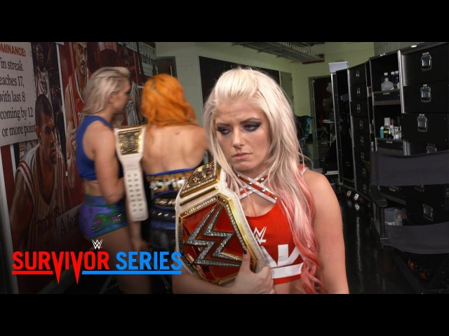 Raw Women's Champion Alexa Bliss is despondent after her loss: Exclusive, Nov. 19, 2017