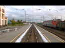 Егоршино - Костоусово. Вид из окна последнего вагона пригородного поезда