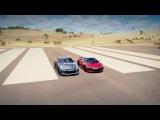 2017 Acura NSX vs 2017 Nissan GT-R Drag Race | Forza Horizon 3