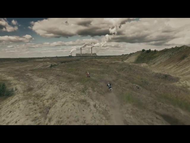 Hard Enduro Freeriding Through the Belchatow Coal Mine