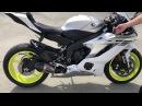 2017 Yamaha R6 sound - Stock vs.Yoshimura Alpha T full system