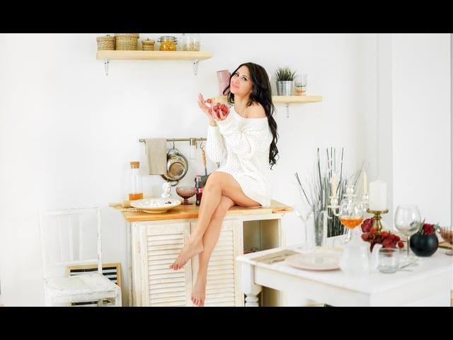 видео Алла Мельникова | модель Алчачак Ахметова | morning story