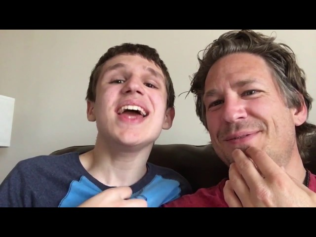 16 year old with AUTISM conversations with DAD