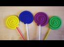 Лепим леденцы конфеты с малышом из пластилина Плей До. Развивающие занятия с де...
