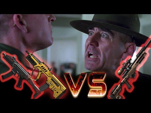 Scorpion Evo3 и Tavor CTAR 21 против легендарной ветки оружия Warface