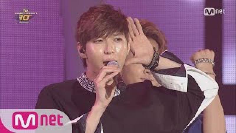 STAR ZOOM IN VIXX singing to TVXQ 'HUG' Sweetness Overload 160520 EP 89