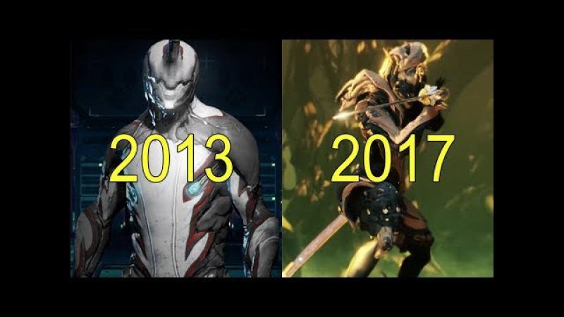 Evolution of Warframe 2013-2017