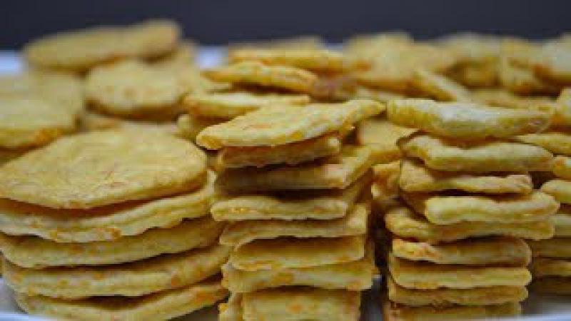 Сырные КРЕКЕРЫ (Проще Простого) | ПОХРУСТИМ?:) Cheese crackers