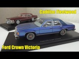 Cadillac Fleetwood и Ford Crown Victoria масштабные модели автомобилей BoS-Models (Best of Show)