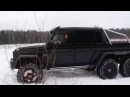Mercedes-benz G63 AMG 6x6 Off road Test Drive