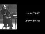 Callas at Juilliard 81 -- Verdi
