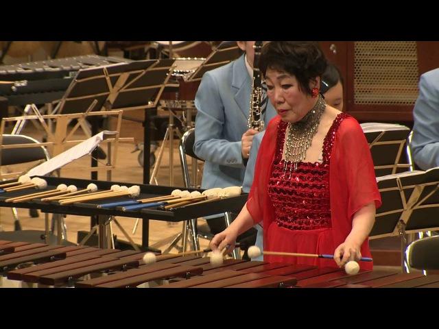 The Wave Impressions Concerto for Marimba and WindOrchestra by Keiko Abe(聖ウルスラ学院英智高校吹奏楽部)