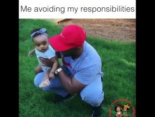 Так я избегаю выполнять свои обязанности!