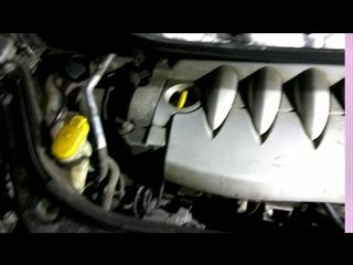 Тест Renault Scinic 2004 перед разбором