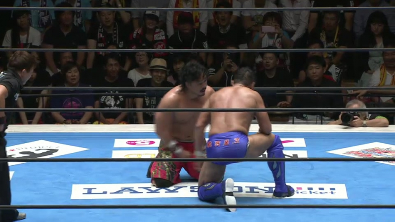 Hirooki Goto vs. Yuji Nagata (NJPW - G1 CLIMAX 27 - Day 3)
