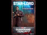 Стражи Галактики: Часть 2 | Анимированный постер
