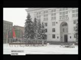 На площади Советов начали подготовку к монтажу главной новогодней ели Кузбасса