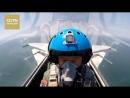 Чудом выжив после авиакатастрофы, бесстрашный китайский офицер-летчик продолжает покорять небо