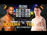 UFC Fight Night Darren Till vs Wendell Oliveira