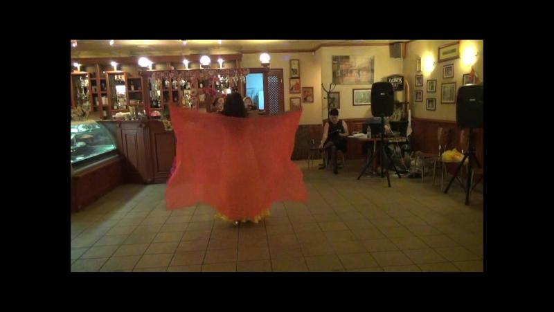 СВЕТ МОЕЙ ДУШИ - Лена Симакова - стилизованный восточный танец с платком