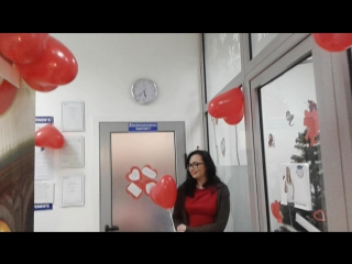 'Happy Valentine's Day!' усім шлють викладач Місс Юля і її вихованці! Дитяча група з англійської мови (Рівень 3)
