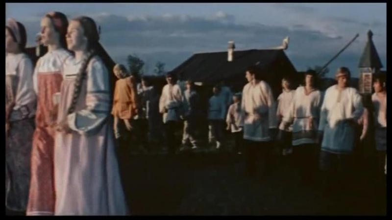 гулянка на Руси из фильма Подарок черного колдуна 1978 года