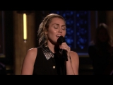 Майли Сайрус  Miley Cyrus -No Freedom Opens The Tonight Show ток-шоу Джимми Фэллона 09 2017