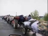 Баня-Лука. 4 августа, 1995. Беженцы с Сербской Краины.