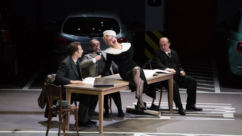 Gaetano Donizetti - Viva la Mamma / Да здравствует мама! / Театральные порядки и беспорядки (Opéra de Lyon, 2017) fr.sub.