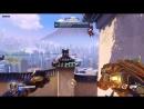 Overwatch Когда решил поучить другого игрока