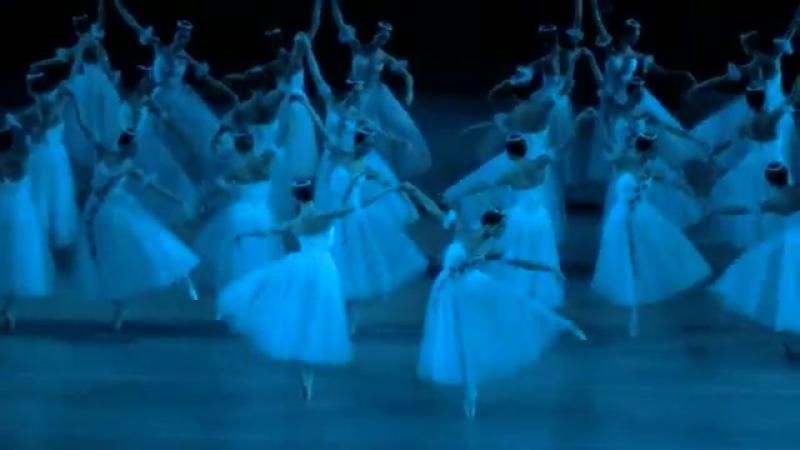 Адажио виллис, 2 акт балета А.Адана