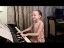 Колыбельная (муз. и сл. Гагарина П. С.) cover by Виктория Викторовна 7 лет.