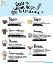 Итальянцы знают все о кофейном этикете. В каких пропорциях…