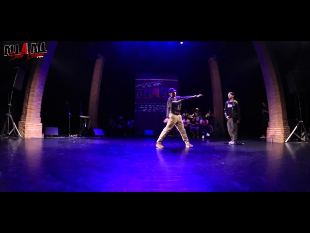 AARON EVO vs SHORTY │ POPPING │ ALL 4 ALL BATTLE EUROPEEN 2017