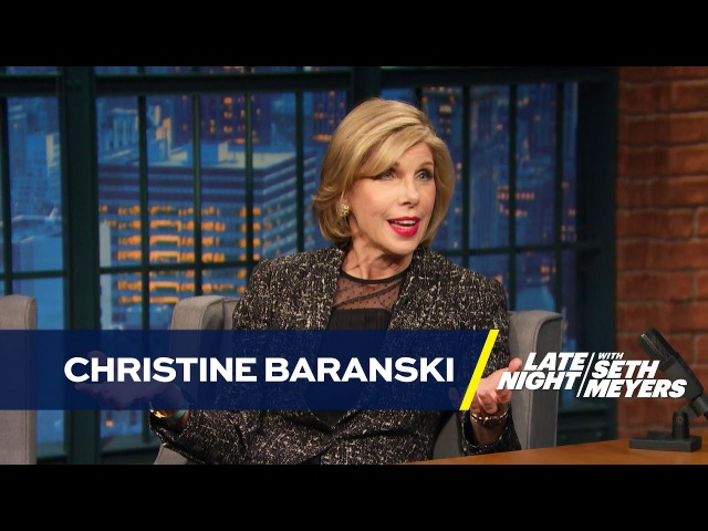 Christine Baranski's Co-Star Was a Superfan of The Good Wife