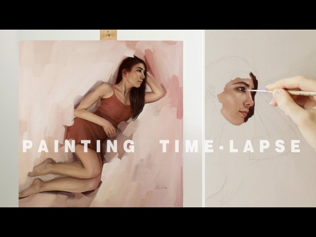 PAINTING TIME-LAPSE || Oil on canvas