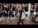 Hip-Hop Beginners Santos vs Юджин Метр с кепкой dance battle2