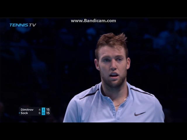 Grigor Dimitrov vs Jack Sock - Nitto ATP Finals 2017 Highlights HD
