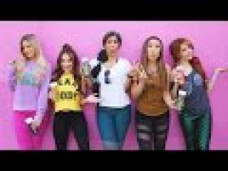 Disney Princesses Try Working Out... (ft. Lindsey Stirling, Lilly Singh, Rosanna Pansino, iJustine)