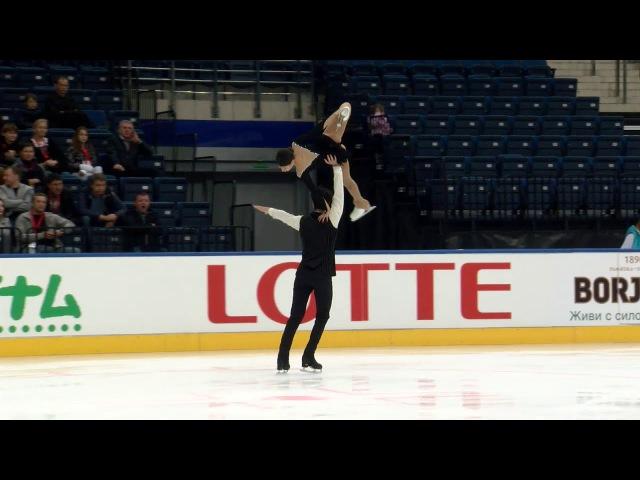 Irma CALDARA Edoardo CAPUTO ITA Pairs Free Skating MINSK 2017