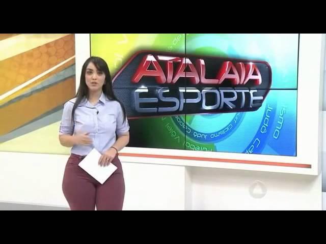 Rafaella Oliveira apresentadora do Atalaia Esportes SE