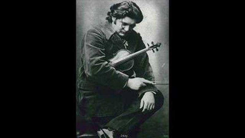 Eugene Ysaye - Sonata no. 5 for Solo Violin (I: L'aurore)