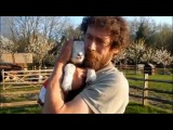 Humans Hugging Other Animals