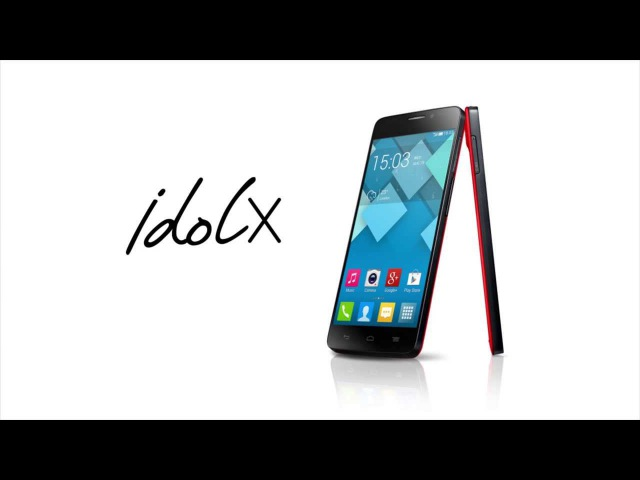 Introducing ALCATEL ONETOUCH IDOL X