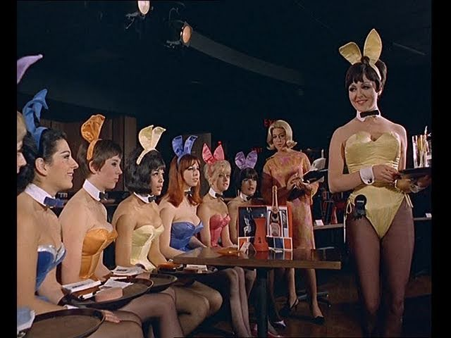 Playboy Bunny Girls and The Playboy Club (Original 1960s Footage)