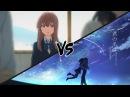 Kimi no na wa vs Koe no Katachi Твоё имя ПРОТИВ Форма голоса Что же всё таки лучше
