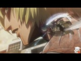 AMV Titan attack anime action girl #3 - Mikasa Атака Гигантов боевые аниме няшки №3 - Микаса