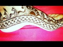 Beautiful simple Foot Mehndi (henna) Design for beginners for eid 2017