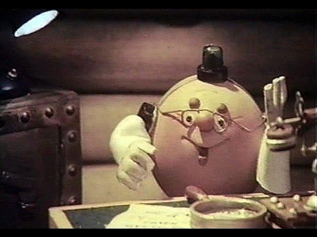 Следствие ведут колобки мультфильм кукольный ТО Экран СССР 1983 1 2 серии